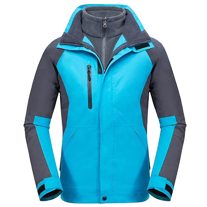 La Vogue Abrigo Chaqueta de Deportivo con Capucha para Mujer Montaña Invierno Calientes: Amazon.es: Ropa y accesorios