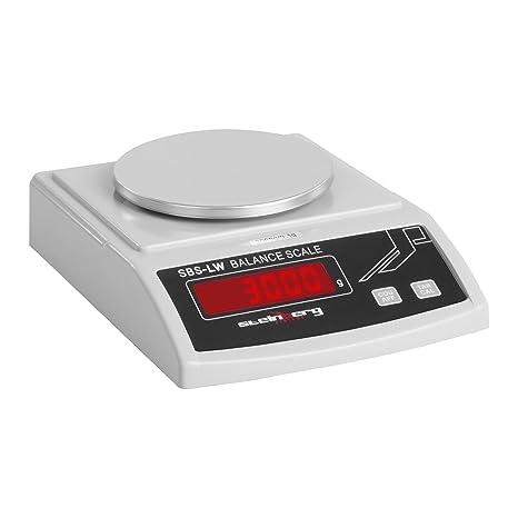 Steinberg Systems Balanza de Precisión Bascula Digital SBS-LW-3000N (3000 g /