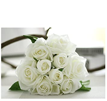 Amazon dw artificial flowers vintage arrangement silk peony dw artificial flowers vintage arrangement silk peony flowers for home wedding decoration 3a junglespirit Gallery