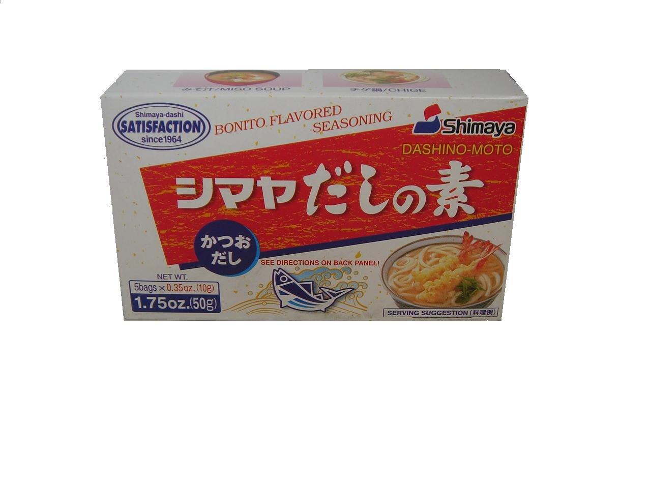 Shimaya Bonito Flavored Soup Stock 50G