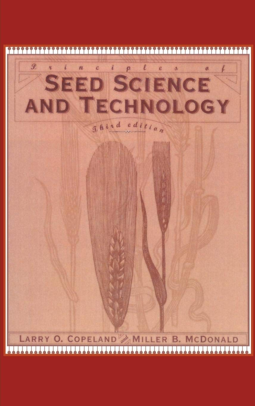 Principles of Seed Science and Technology: Amazon co uk