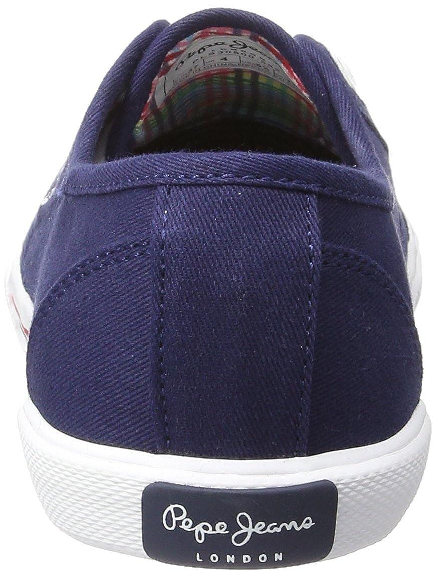 quality design 2dc7b 8ad49 Pepe Jeans Damen Aberlady Basic 17 Sneaker, blau