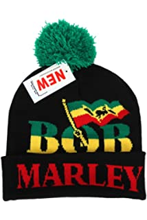 Dreadlocks Rasta Strip Jamaica Reggae Beanie Ski Hat Cap  Amazon.co ... 0f54524c382a