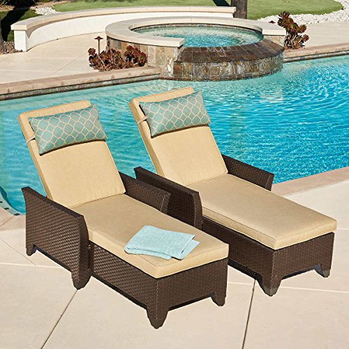 Lounger Mission (Avalon Bay Chaise Loungers by Mission Hills 2-pack)