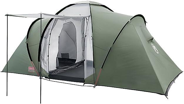 Coleman Ridgeline 4 Plus - Tienda de campaña (4 Personas) Verde Talla:4 pers.: Amazon.es: Deportes y aire libre