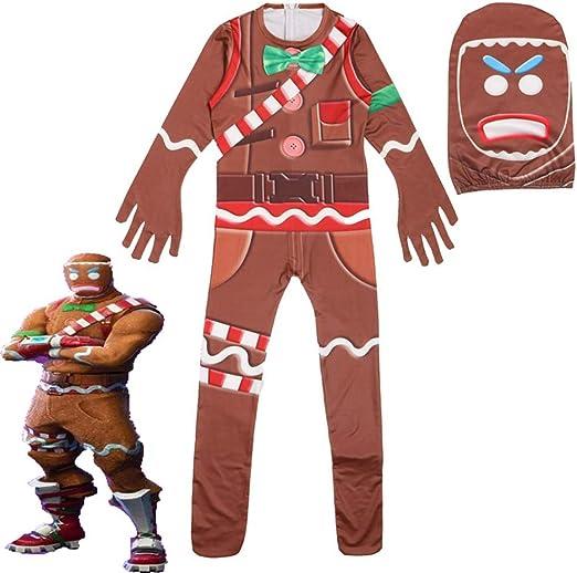 Godmoy Halloween Gingerbread Man Cosplay personalizado para niños ...