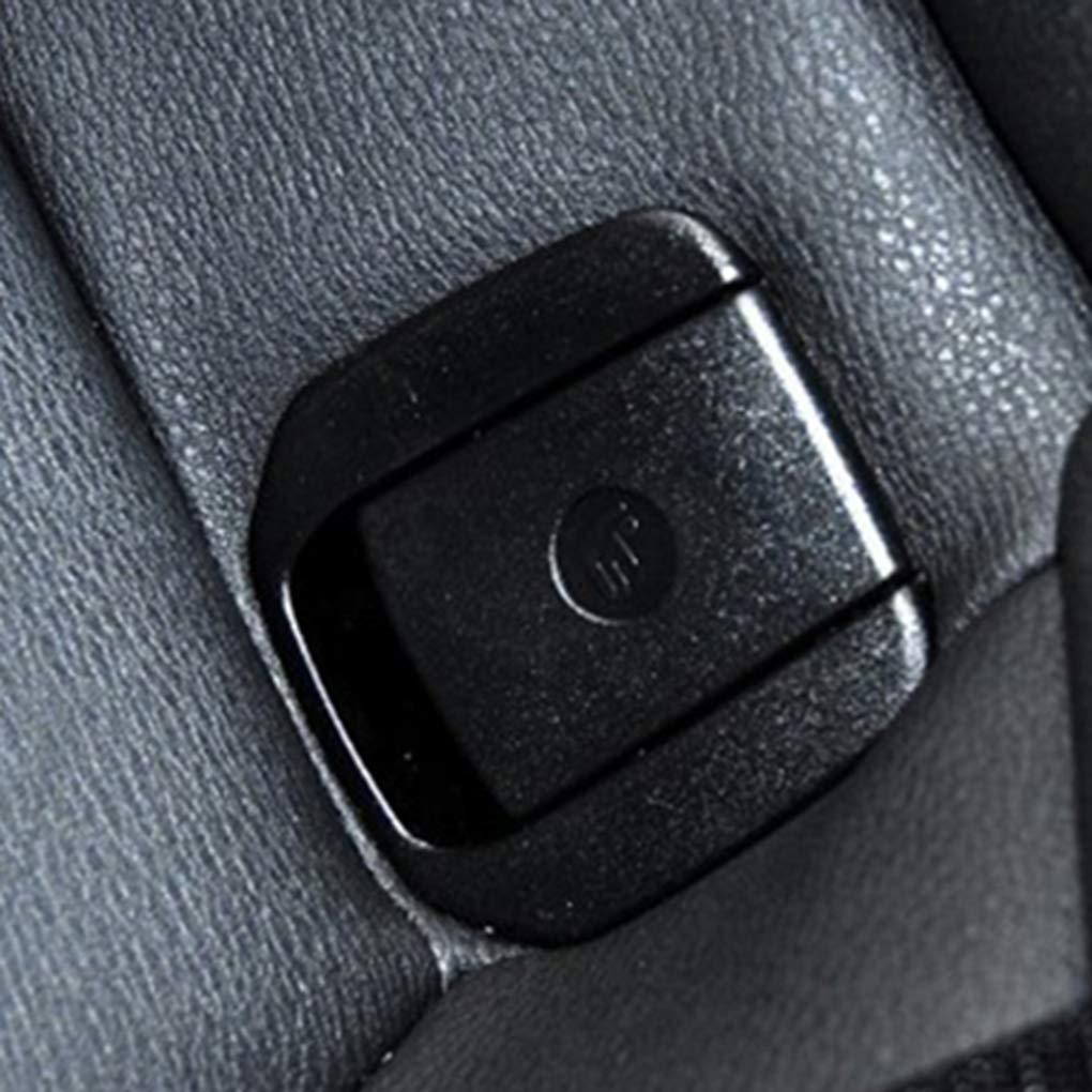 JinzukeAsiento Trasero Ni/ños Seguridad Cubierta de Montaje de la Hebilla de reemplazo para BMW E90 E91 Accesorios de veh/ículos 52207319688