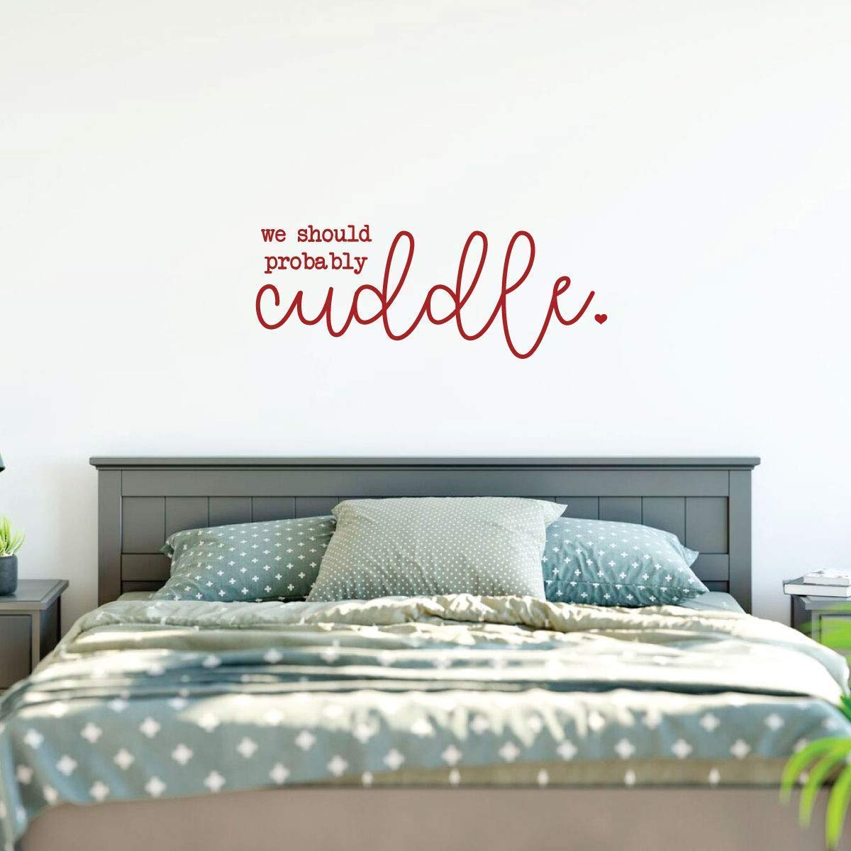 Handmade Romantic Bed Room Sign Painted I Choose you Sign Newlyweds Home Decor Couple Custom