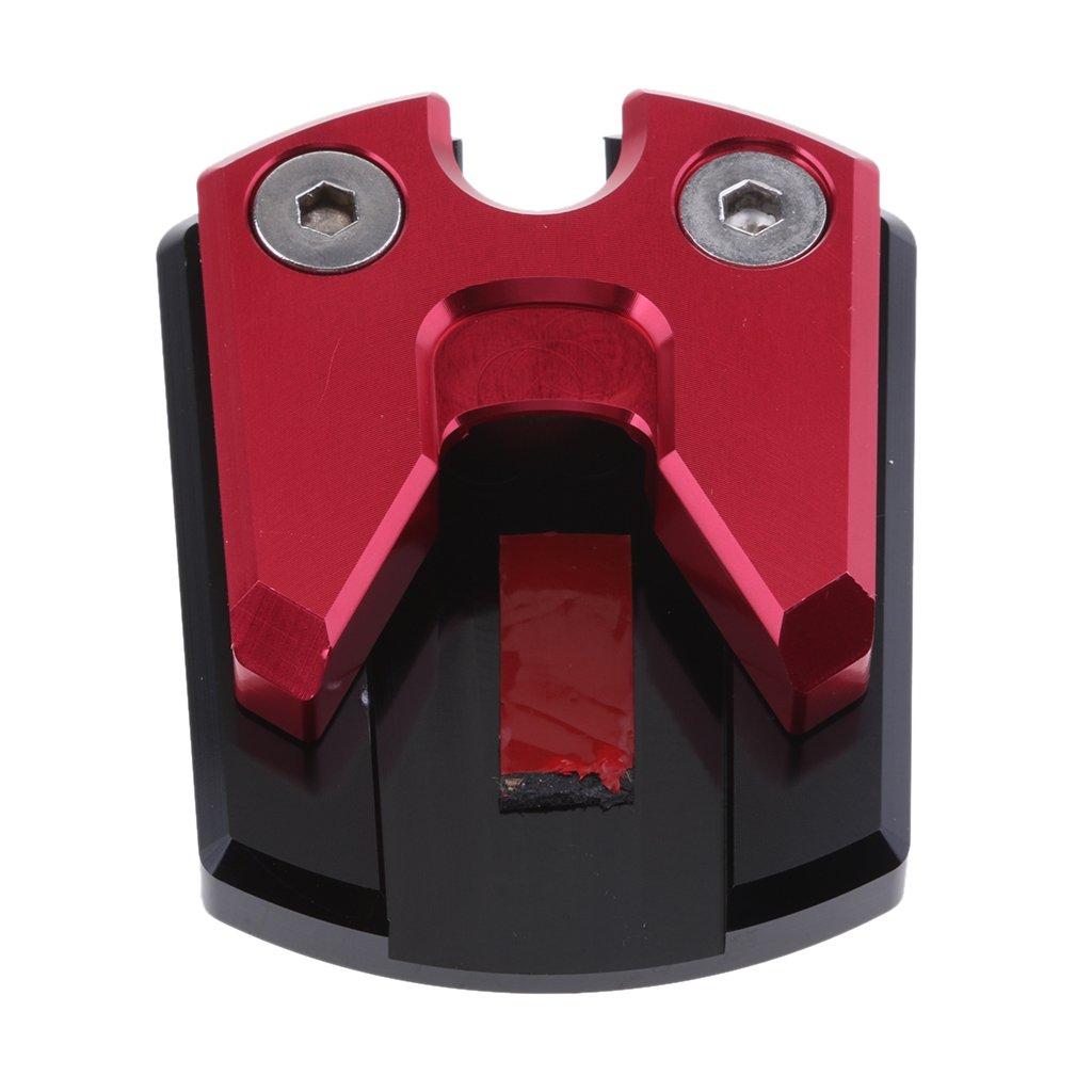 MagiDeal Sidestand Foot Plate Kickstand Pad for Yamaha NMAX 155 XMAX 250/300 - Black