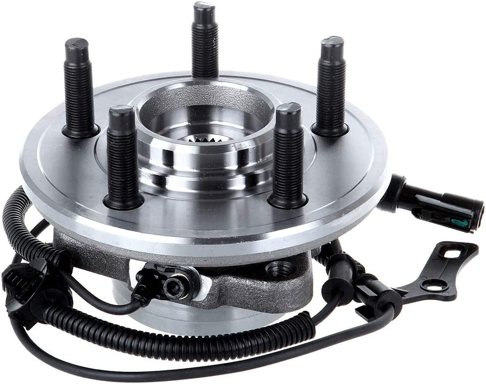 ROADFAR Wheel Bearing Hub Assembly fit for 2006-2010 Ford Explorer 2007-2010 Ford Explorer Sport Trac 2006-2010 Mercury Mountaineer Front Wheel Bearing hub kit 515078