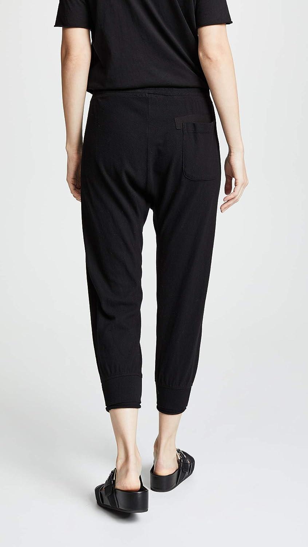 Wilt Womens Shrunken Sweatpants w Rolled Rib Cuff