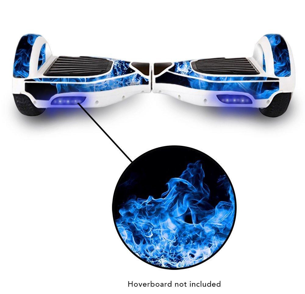 Vinilo adhesivo protector Skin Wrap para eléctrica equilibrio Scooter Mini Planeador 2 Rueda Auto Equilibrio monociclo adhesivo de vinilo (humo): Amazon.es: ...