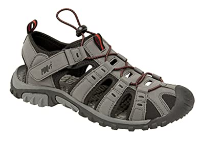 23fdea33e327 PDQ Mens Toggle   Touch Fastening Trail Sandals  Amazon.co.uk  Shoes   Bags