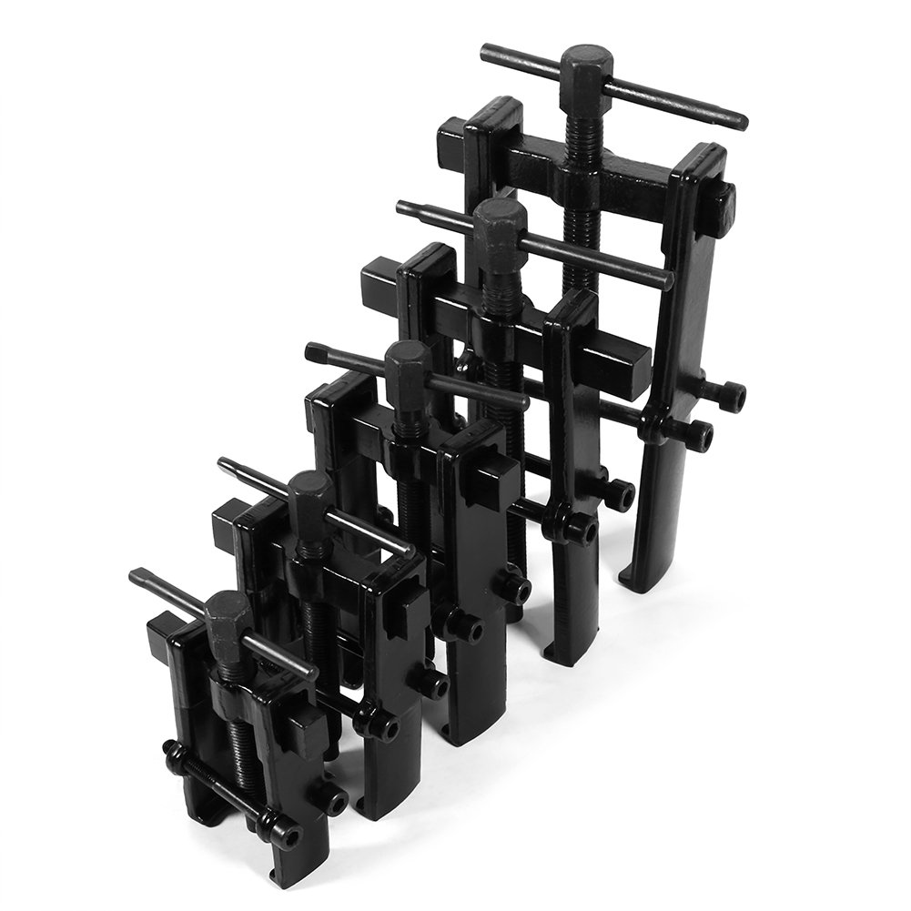 vgeby 2.5/Carbon Steel Adjustable Black Two Jaw Bearing Puller disassebly strumento 8 4 40*80mm//16*31