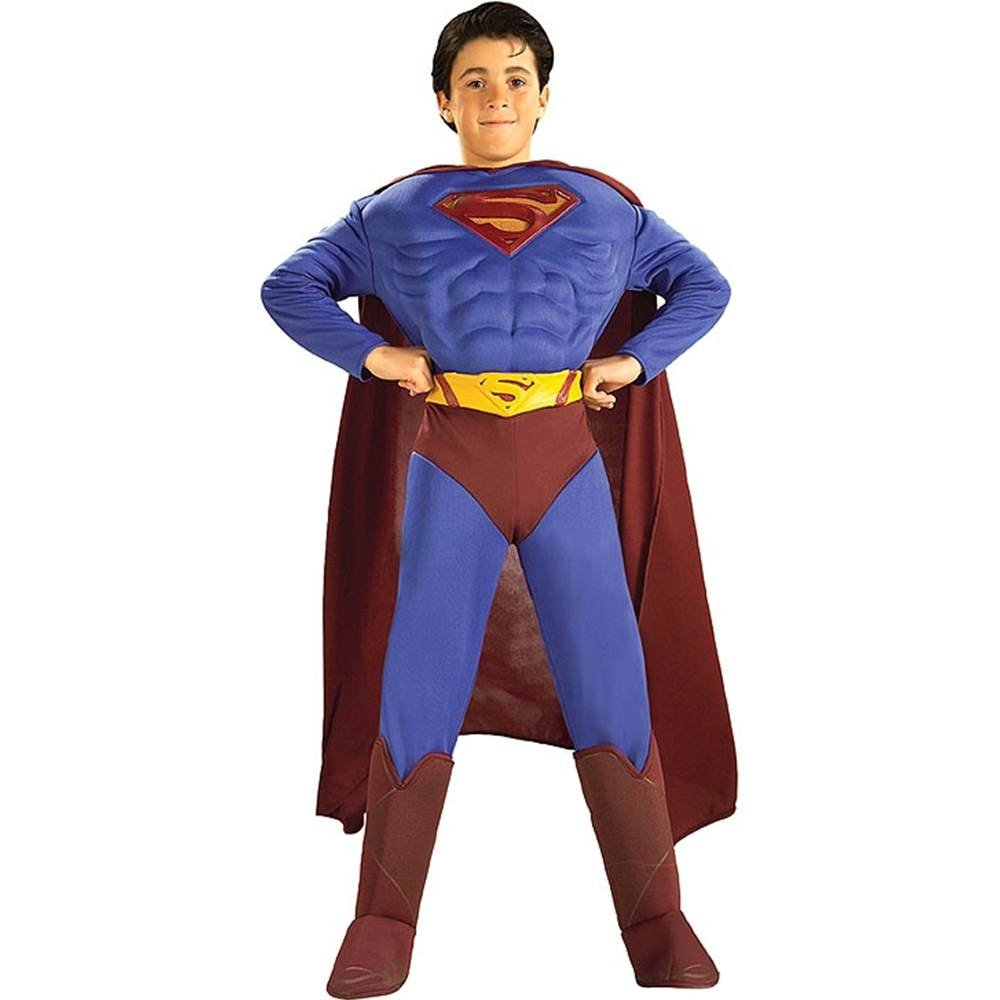 amazoncom deluxe muscle chest superman costumesmall 4 6 toys games - Halloween Muscle