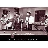 Rat Pack Shooting Pool Art Print Poster Poster Print, 36x24 Movie Poster Print, 36x24