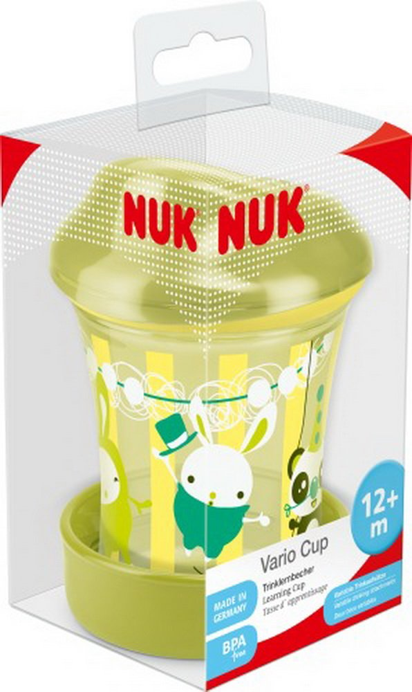 NUK EASY LEARNING Vario Cup 250ml, ab 12Mon farbig sortiert 10255270