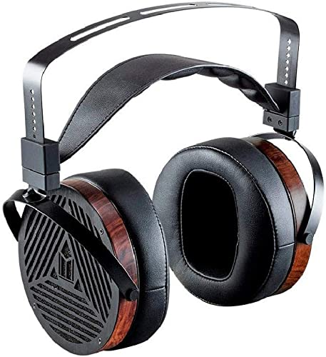 Monolith M1060 Over Ear Planar Magnetic Headphones - Black/Wood With 106mm Driver