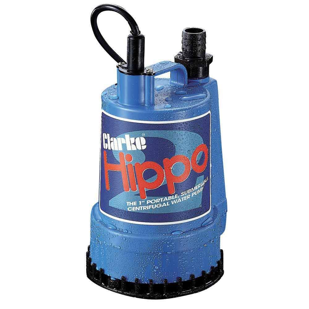 CLARKE HIPPO SUBMERSIBLE WATER PUMP 110V 85 LTRE/MIN by Clarke International