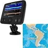 Raymarine Dragonfly 7 PRO Combo - Transom Mount Transducer w/Navionics Caribbean & South America Chart