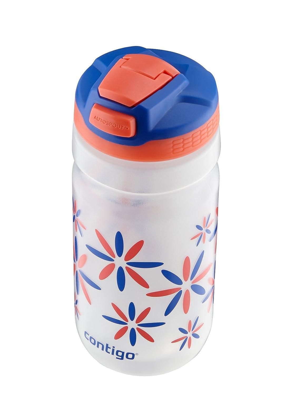 Tango Pink 71092 Contigo AUTOSPOUT Straw Squeeze Kids Water Bottle 18 oz