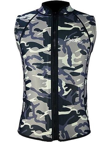 Layatone Wetsuit Top Men Women Premium 2mm 3mm Neoprene Diving Suit Vest  Sleeveless Canoeing Surfing 8c12bb911