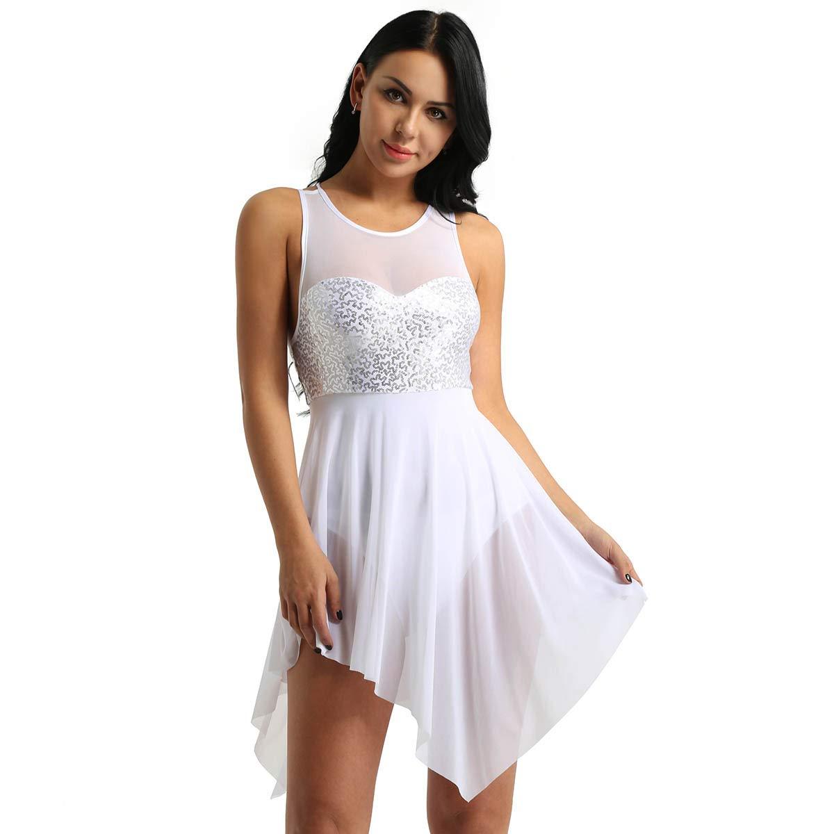 iEFiEL DRESS レディース B07HRQZFYZ  ホワイト Medium