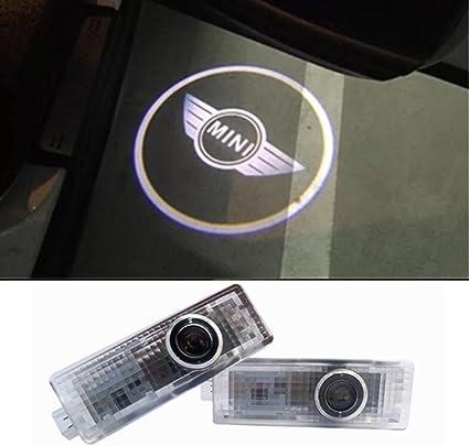 Inlink 2 piezas de LED proyector puerta logotipo de la sombra de ...