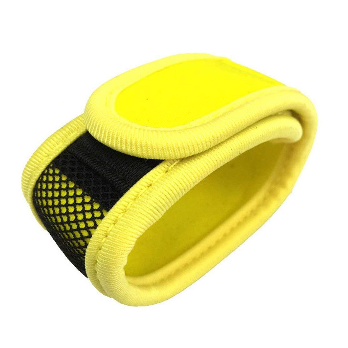 LouiseEvel215 Fascia da Polso del Braccialetto Repellente dellinsetto dellinsetto dellinsetto della zanzara dei Bambini Adulti Regolabili con 2 ricariche repellenti