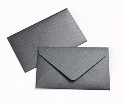 Birthday or Event Ticket Size White Envelopes 2.5 X 6