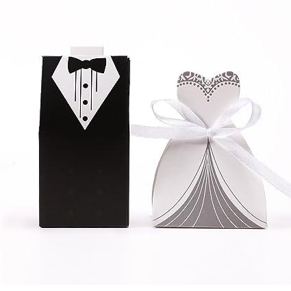CLE DE TOUS@ 30 sets Cajas de boda para bombones caramelos chocolate ...