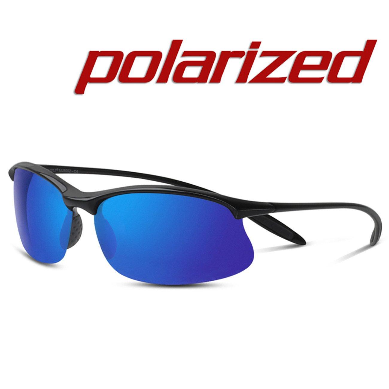 JULI Polarisierte Sport Sonnenbrille Herren Damen Tr90 Unzerbrechlich Rahmen Running Fischerei Baseball MJ8002 IuAutlfhA