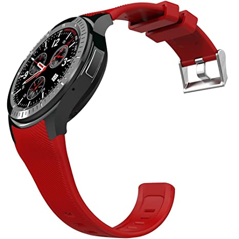 Kobwa 3 G WIFI Bluetooth Smart reloj teléfono celular todo en uno Android 5.1 DM368 Fitness ...