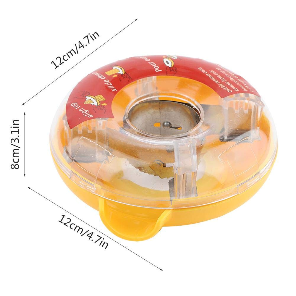 Corn Stripping Tool Round Corrugated Stainless Steel Blades Design Stripping Device