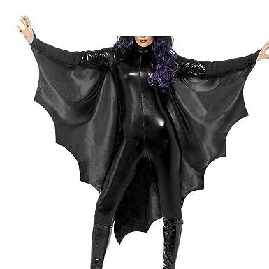 Mujer Halloween Ropa Vintage Fashion Trajes Murciélago Festival ...