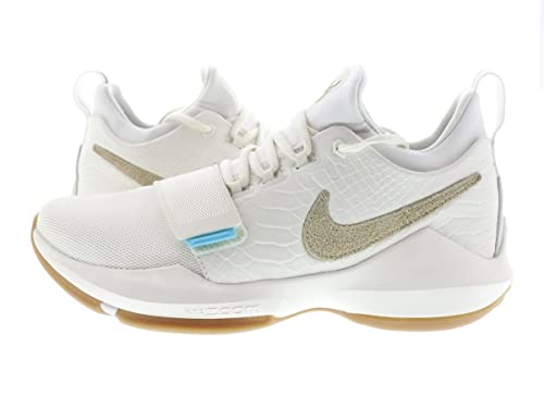adcbe9bb963 Nike PG 1 Summer Pack Ivory Oatmeal Gum Paul George 878627-110 US Size 13   Amazon.ca  Shoes   Handbags