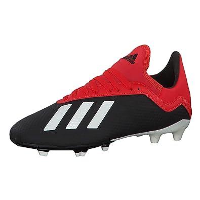 4c8a8175cd adidas Jungen X 18.3 Fg J Fußballschuhe, Schwarz Core Black/Off White/Grey