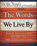 The Words We Live By, Linda R. Monk, 0786867205
