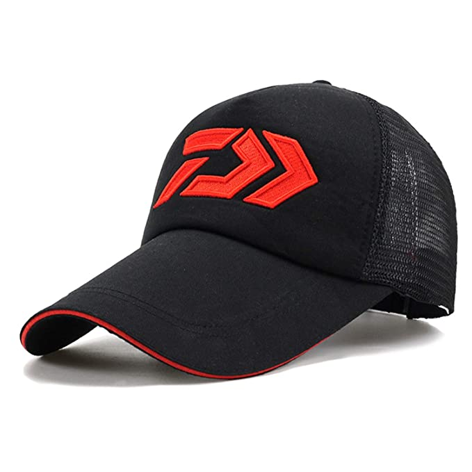 7034e9ddd2531 Image Unavailable. Image not available for. Color  LONIY Fishing Cap Adult  Men Adjustable Breathable Fishing Daiwa Japan ...