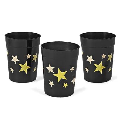 Gold Star Tumbler Glasses (1 dz): Toys & Games
