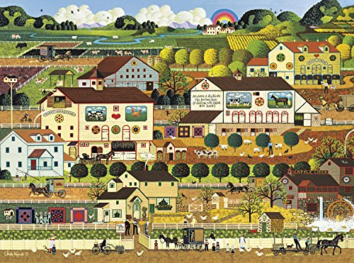 Buffalo Games - Charles Wysocki - Amish Country - 1000 Piece Jigsaw Puzzle