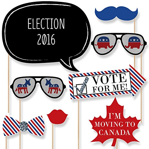 2016 Presidential Election - Photo Booth Prop Kit - 20 Count