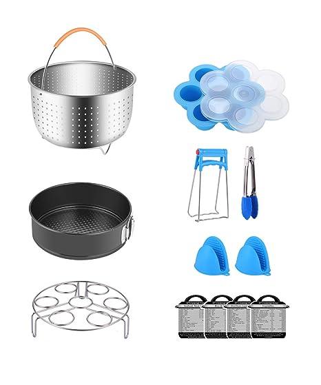 Amazon.com: Fopurs - Juego de accesorios para ollas a ...