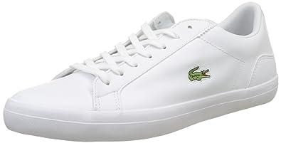 am besten bewerteten neuesten bekannte Marke elegante Schuhe Lacoste Herren Lerond Bl 1 Cam Wht Bässe, weiß