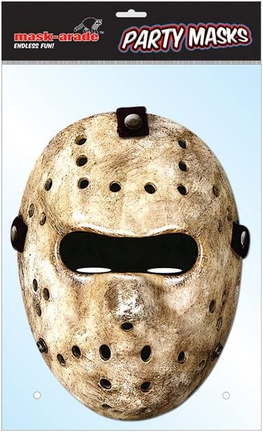 Hockey Mask Card : Costume Masks : Sports & Outdoors