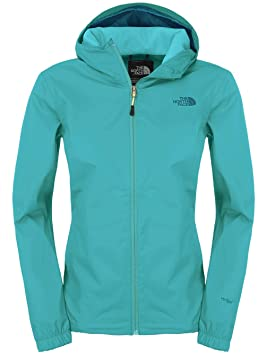 The North Face Quest W - Chaqueta impermeable, turquesa, medium: Amazon.es: Deportes y aire libre