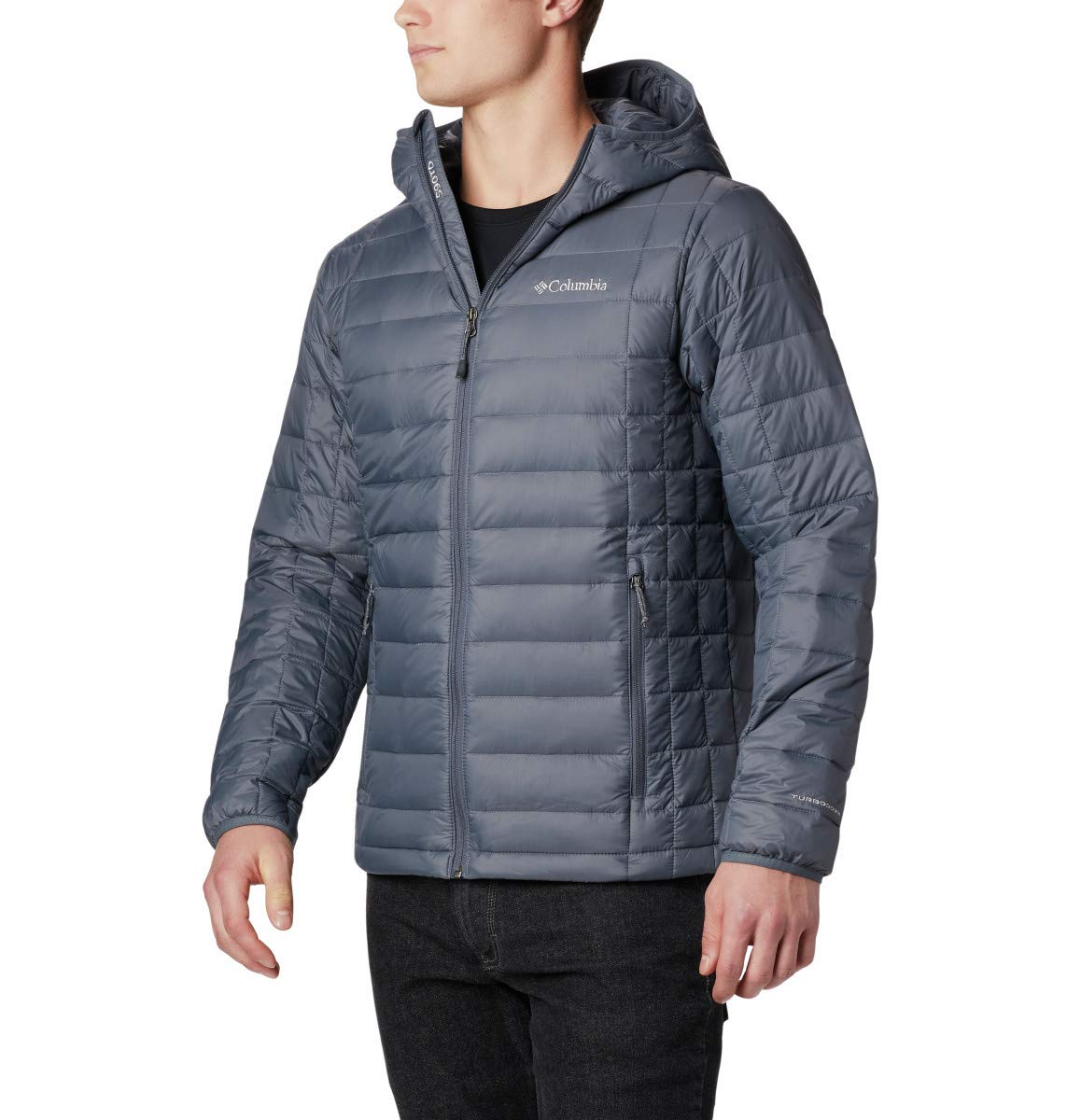 Columbia Men's Voodoo Falls 590 TurboDown Big-Tall Jacket, Thermal Warmth, 6X, Graphite by Columbia