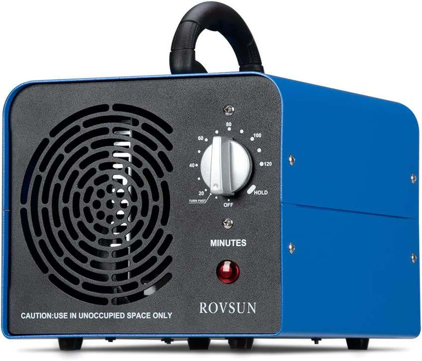 ROVSUN 10,000 MG/H Industrial Ozone Generator, Commercial Grade O3 Air Purifier, Home Air Ionizers Machine for Rooms, Hotels and Farms, Deodorizer for Removal of Odor/Dust/Smoke/Pollen