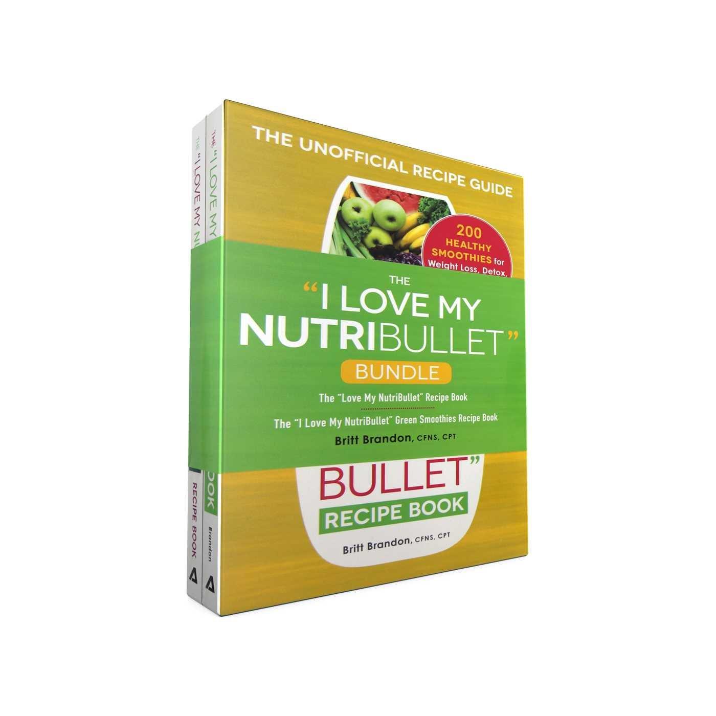 """Read Online The I Love My NutriBullet Bundle: The """"I Love My NutriBullet"""" Recipe Book; The """"I Love My NutriBullet"""" Green Smoothies Recipe Book (""""I Love My"""" Series) ebook"""