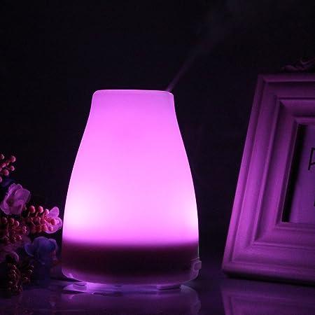 Amazon.com: nascco 120 ml lámpara LED Ambientador difusor de ...